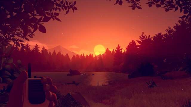 In Firewatch, often will we stop to marvel at the view. - 2014-12-31