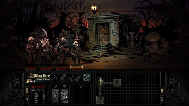 Darkness, mud and the omnipresent madness – Darkest Dungeon won't be a game for everyone. - 2014-12-31
