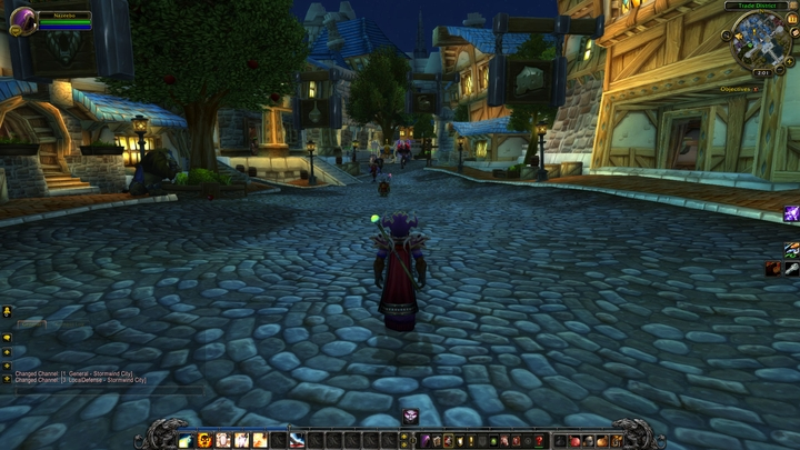Stormwind of today not only has new districts and better bricks – ambient lighting was also added. - 2017-01-18