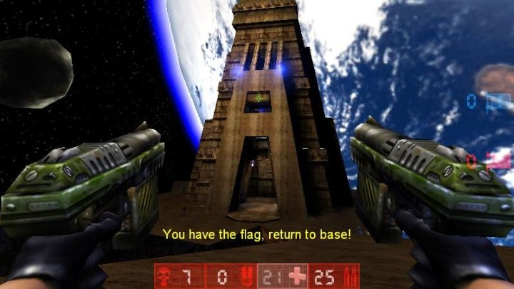 It's pure nostalgia, rather than timeless mechanics, that compels me to return to Unreal Tournament. - 2018-09-12