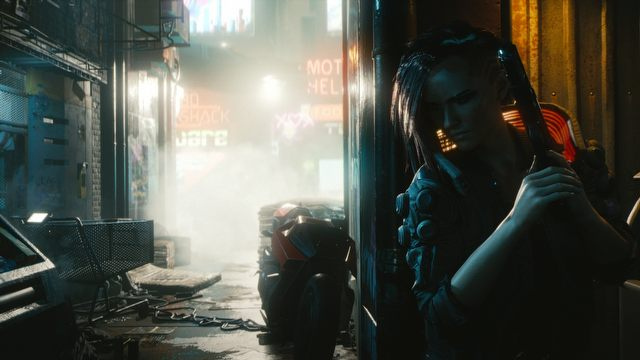 "Presentation of two V ""builds"" is also an opportunity to compare the male and female versions of main character. Woman's voice sounds more fierce and aggressive - as I would expect from a cyberpunk hero. - 2019-07-11"