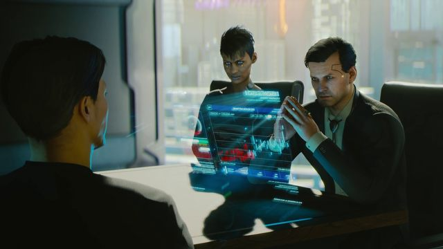 Developers and writers of CD Projekt did not spare any costs and stuffed all dialogues with terminology characteristic of Cyberpunk 2020. Those unfamiliar with the universe are unlikely to avoid frequent visits to the lexicon/glossary. - 2019-07-11