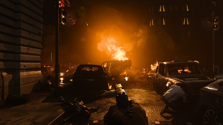 Players witness Piccadilly Circus being transformed into a warzone. - 10 best video game moments of 2019 - dokument - 2019-12-19