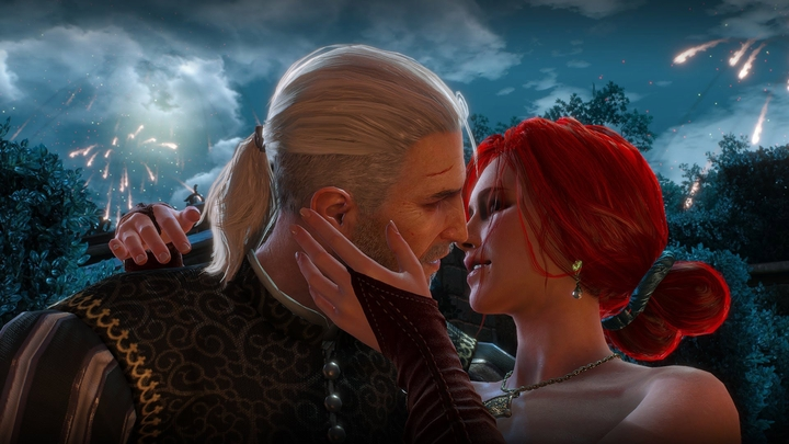 The ball was a nice occasion to take a short break from searching for Ciri and spend some quality time with Triss. - 2016-09-23