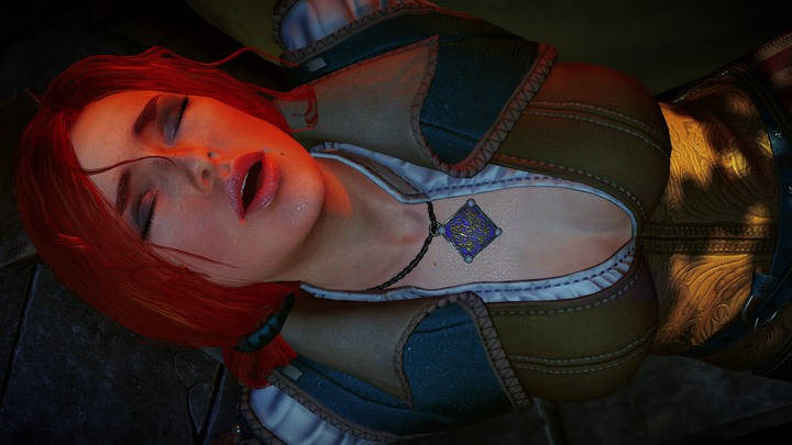 Triss is a very... capable... sorceress. - 2016-09-23