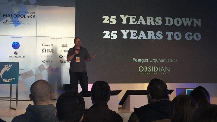We had a chance to talk to Feargus Urquhuart during the Digital Dragons 2016 conference in Kraków. - 2016-05-19