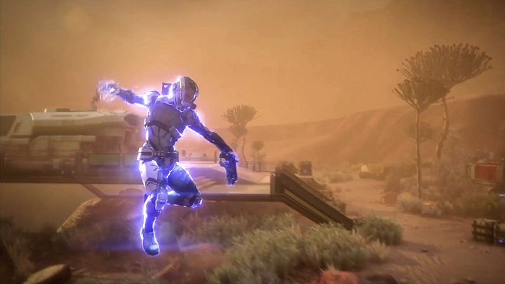 The new galaxy and open environments will bring new powers to the soldiers, such as a jet-assisted jump ended with a powerful biotic slam. - 2016-07-15