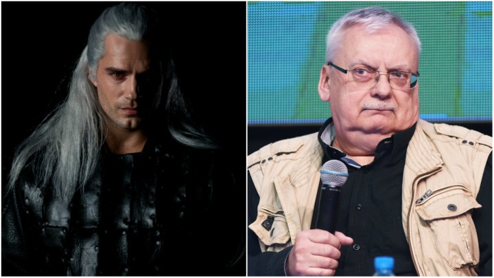 Sapkowski Delighted With Cavill S Geralt Gamepressure Com