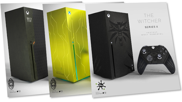 Beautiful Witcher Themed Xbox Series X In Artist S Visions Gamepressure Com