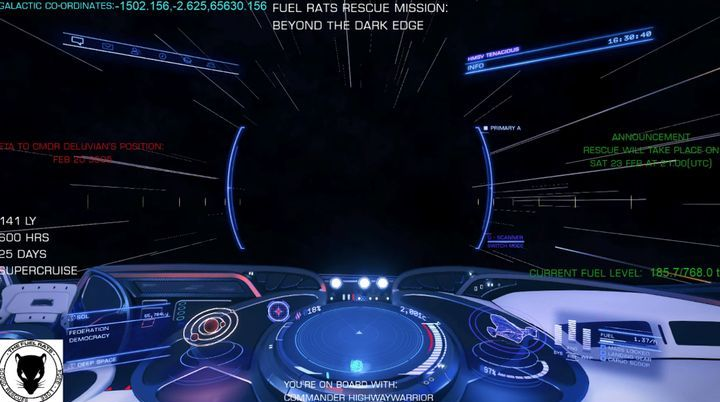 Elite Dangerous Pilot Stranded in Void, Players Attempt Rescue - picture #2