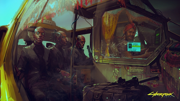 You can now finish Cyberpunk 2077. New artwork is here - picture #1