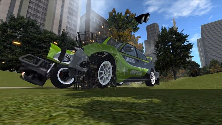 Destruction Derby in Liberty City - GTA 3 Map Hits BeamNG drive