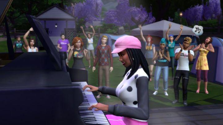 The Sims 4: музыкальный фестиваль с песнями на симлиш - картинка №2