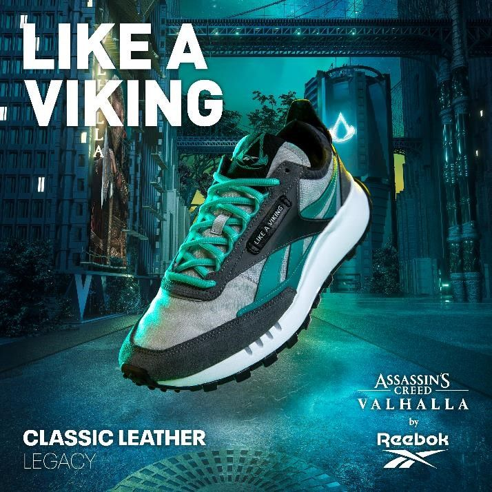 Rebook Launches AC Valhalla-inspired Shoes and Clothing Line - picture #3