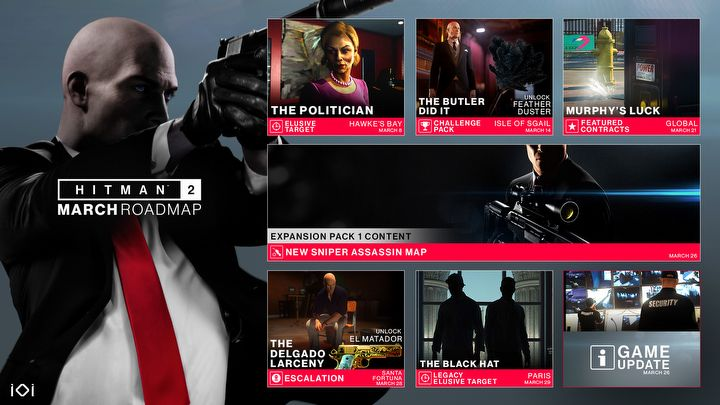 Hitman 2 March Roadmap, DiRT Rally 2.0 Season 1 and Other News - picture #2