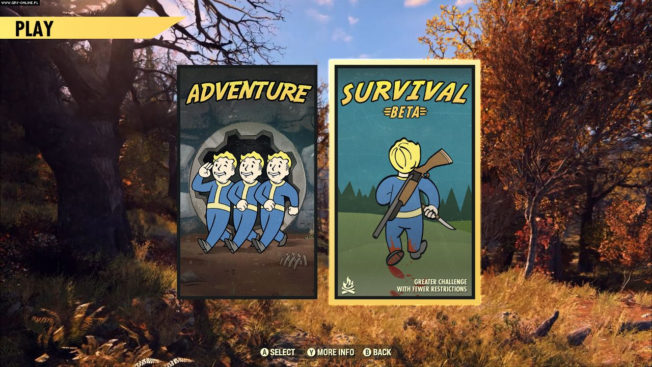 Fallout 76 Survival Mode Beta will start in March - picture #1