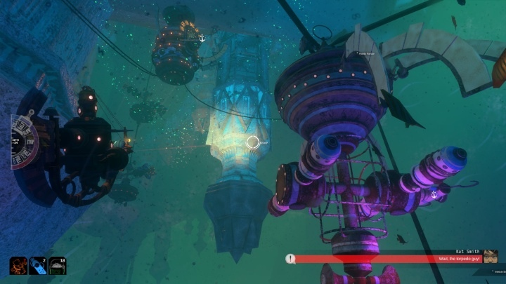 Explore the deep sea in Diluvion, an open-world submarine combat game with RPG elements - picture #1