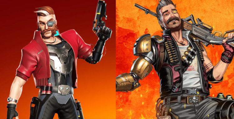Hunter (Bulletville) napravo, Fuse (Apex) nalevo
