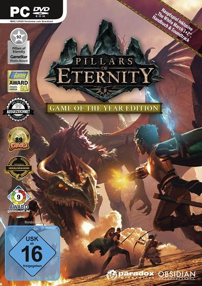 Pillars of Eternity: Game of the Year Edition spotted on Amazon Germany - picture #1