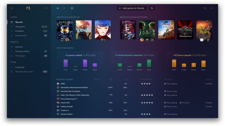 GOG Galaxy 2.0 Coming. Integration With Consoles and Other Platforms - picture #2