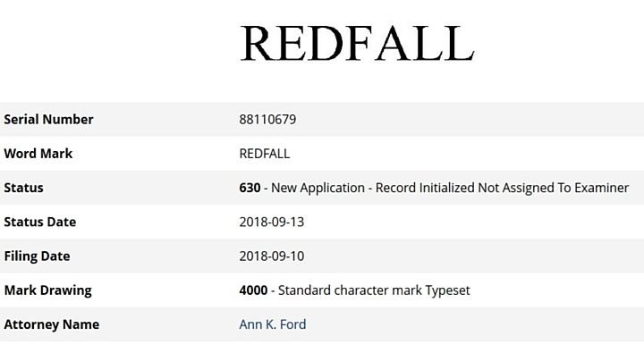 The Elder Scrolls 6 is called Redfall, trademark suggests - picture #1