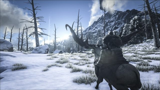 ARK: Survival Evolved features Snow and Swamp Biomes - picture #1