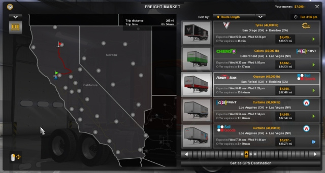 American Truck Simulator Nevada DLC will be available at launch, Arizona coming out for free later - picture #1
