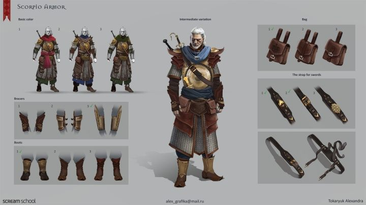 The Witcher 3: The Sands of Ofir - fan concept for a new expansion - picture #2
