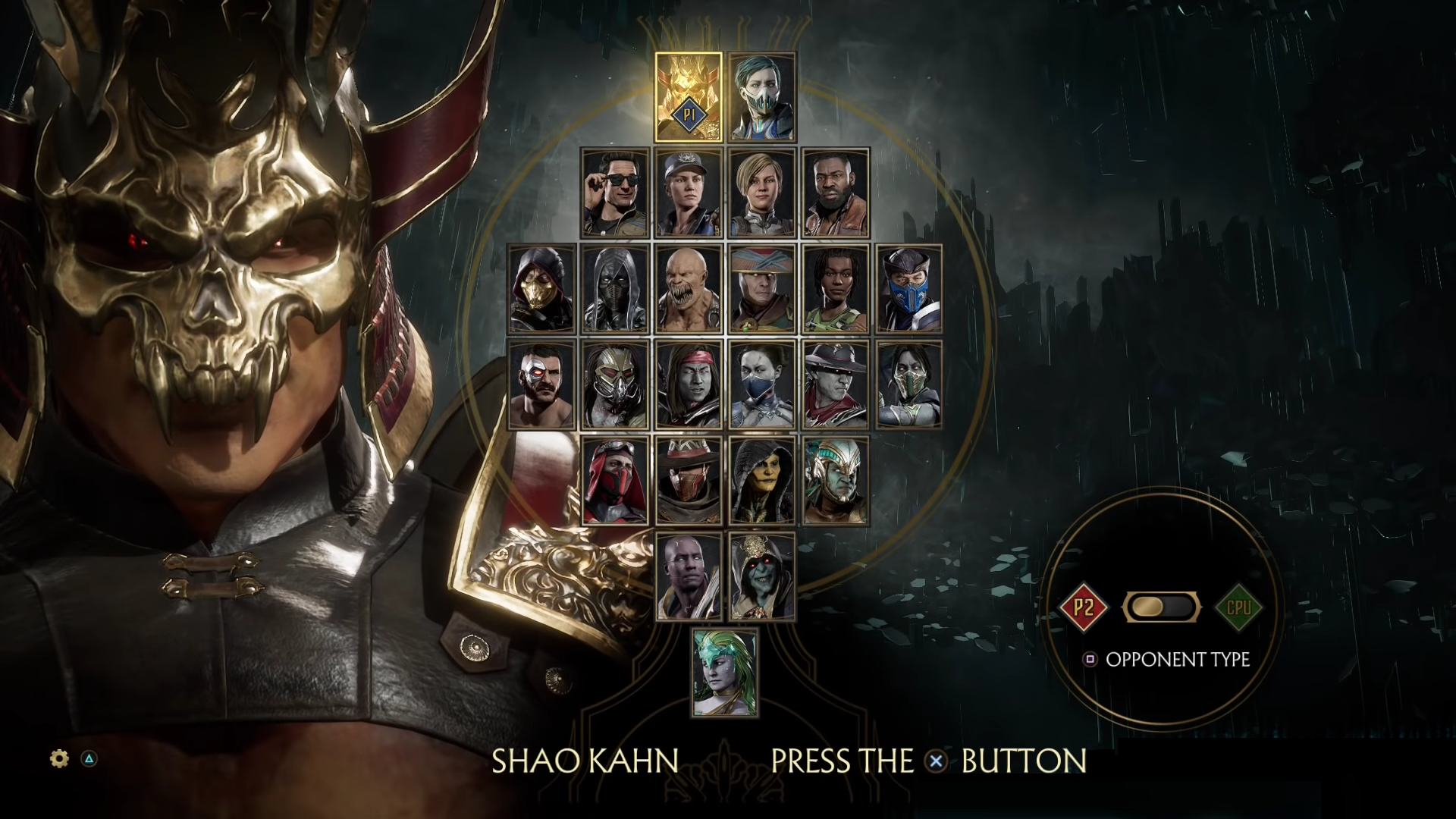 mortal kombat 11 all characters list