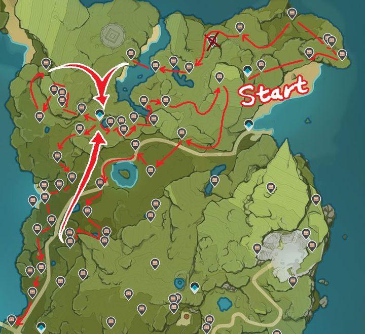 Карта удара Геншина делает добычу сундуков намного эффективнее - картинка # 2