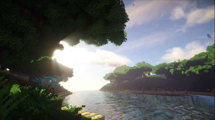 Minecraft With Photorealistic Textures and Ray Tracing - picture #1