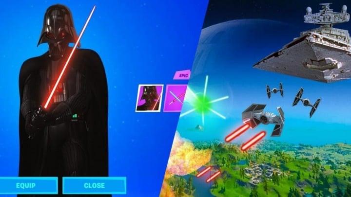 Lightsaber Locations Fortnite Star Wars Takes Over Fortnite Lightsaber Duels Galore Gamepressure Com