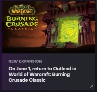 Leak Reveals Possible Release Date of The Burning Crusade Classic - picture #2