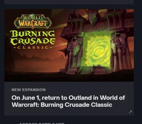 Leak Reveals Possible Release Date of The Burning Crusade Classic - picture #3