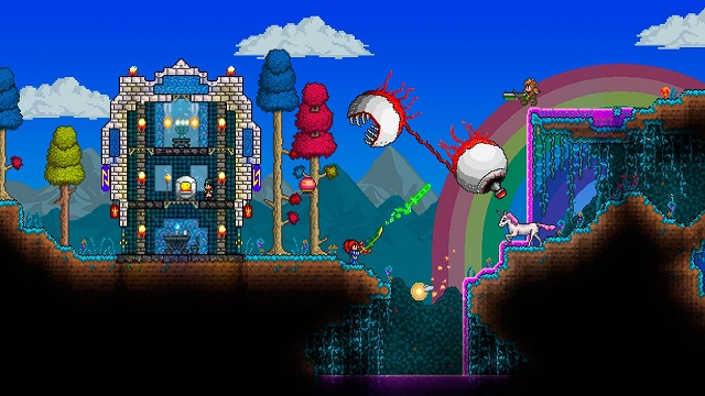 Terraria – New Update Improves Graphics and Adds a Host of New Items - picture #1