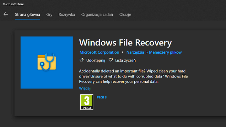 Microsoft Enables Free Data Recovery in Windows 10 | gamepressure.com