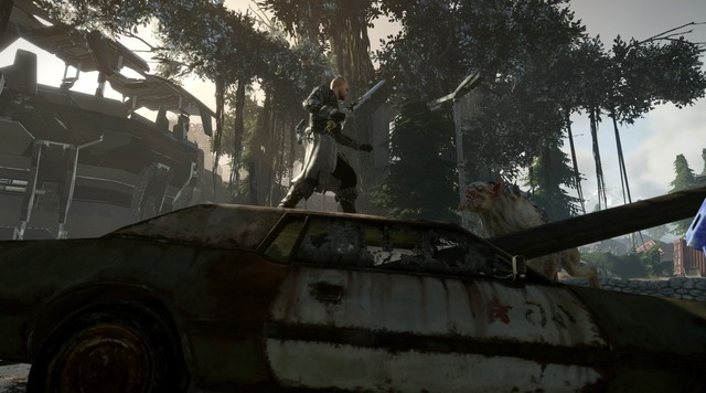 Elex on New Screenshots. Swords, Monsters, Cars, and Jetpacks in One Game - picture #1