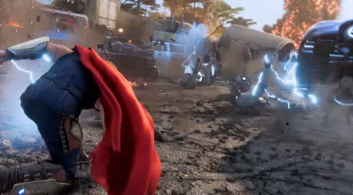New Info on Marvels Avengers from Square Enix - picture #3