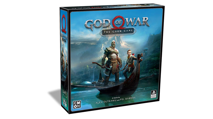 The God of War Card Game Anounced - picture #1