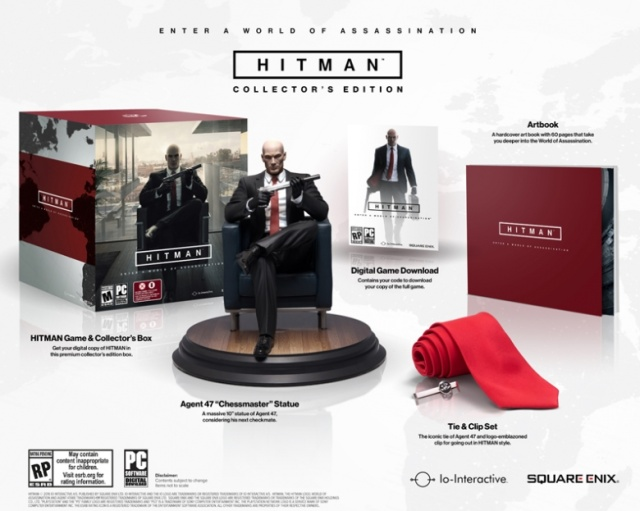 Hitman becomes a fully episodic game and heres the Collector's Edition - picture #1