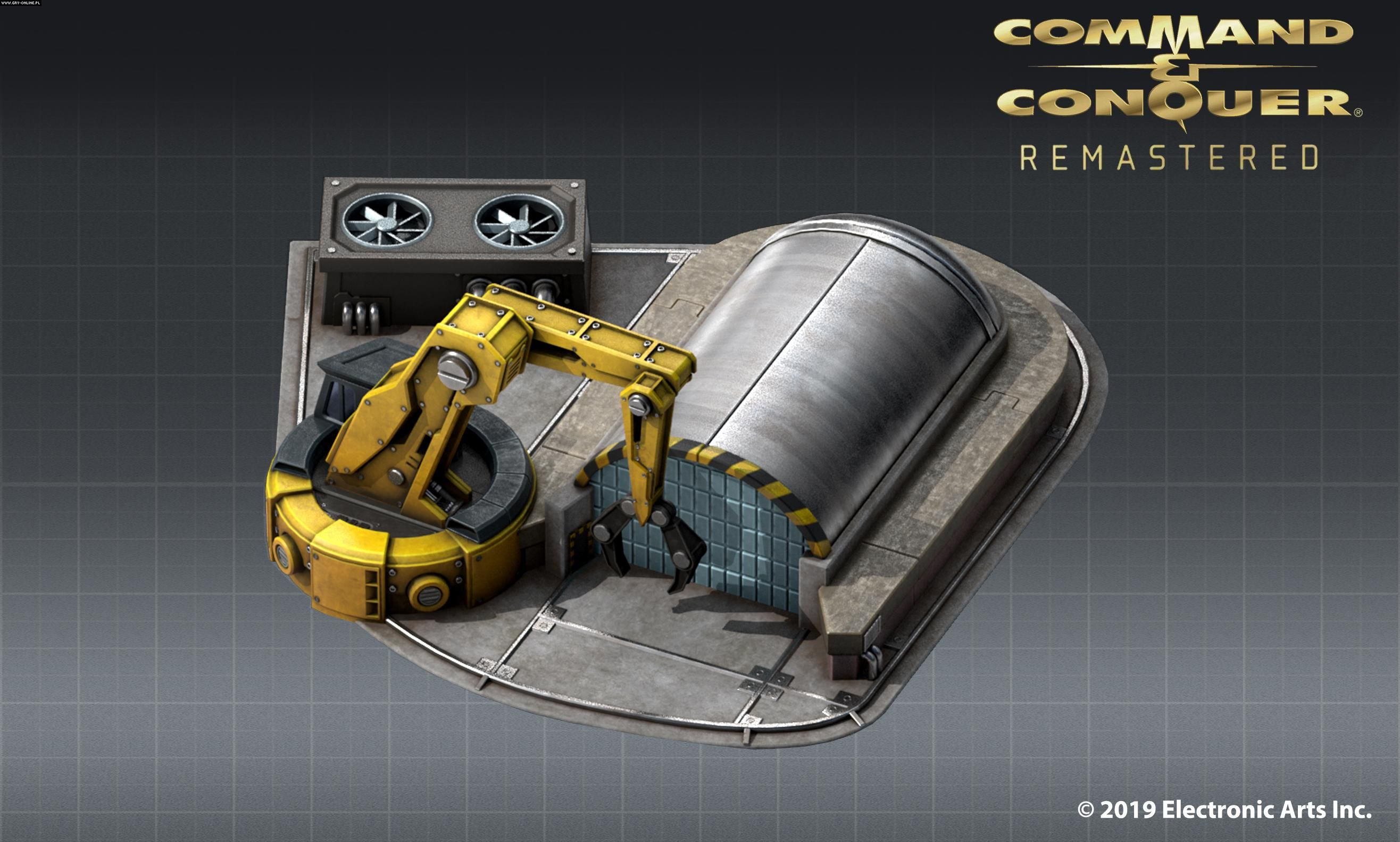 First Artwork From Command & Conquer Remastered