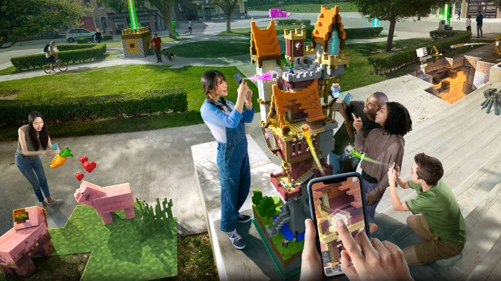 Minecraft Earth Announced - Microsoft Challenges Pokemon GO - picture #1