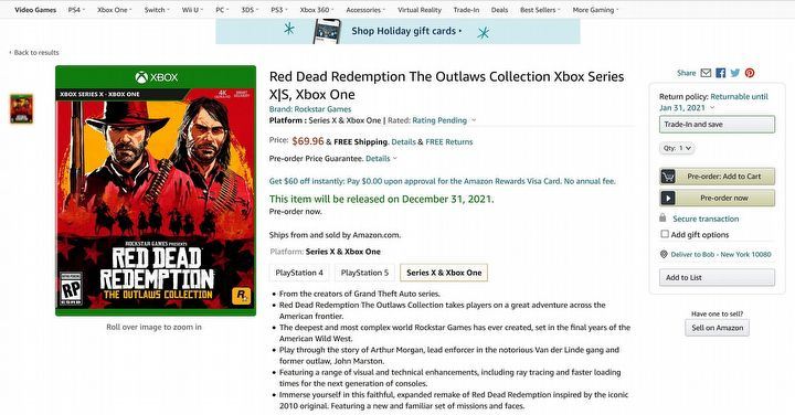 Red Dead Redemption: The Outlaws Collection Raises Dying Hope for RDR Remaster - picture #1