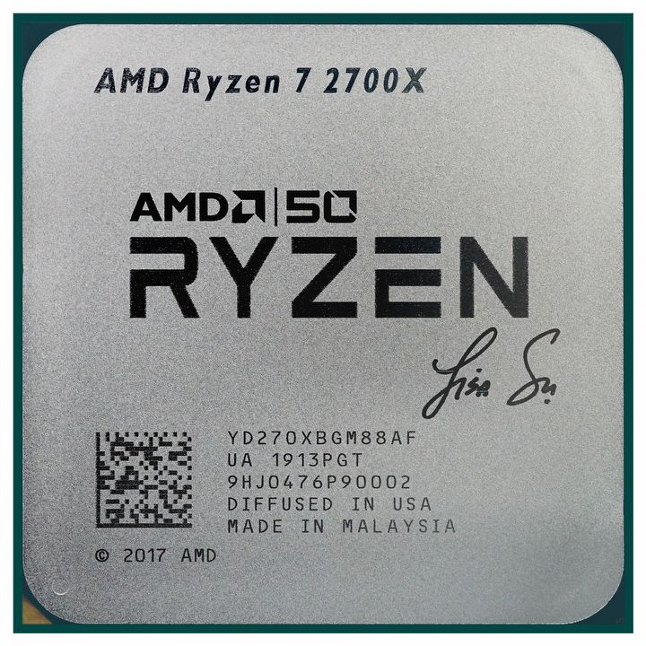 AMD Announces Gold Editions of Radeon VII and Ryzen 7 2700X - picture #3