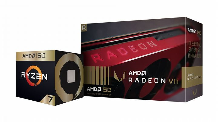 AMD Announces Gold Editions of Radeon VII and Ryzen 7 2700X - picture #4