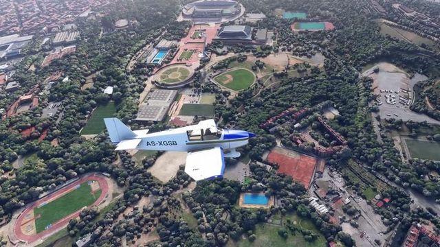 Beautiful Cities in 4K and 60 FPS - Microsoft Flight Simulator Gameplay