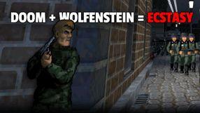 Wolfenstein 3D + Doom = An ecstatic experience