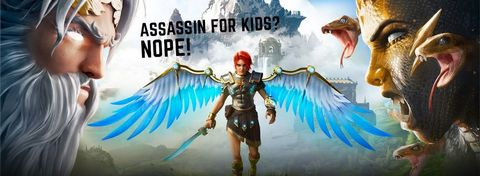 Immortals: Fenyx Rising is More Than Assassin's Creed for Kids!
