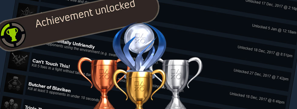 Trophies and achievements – a source of motivation or frustration?