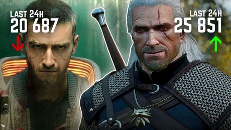 Cyberpunk 2077 Already Has Fewer Players than The Witcher 3 - Is This Normal?